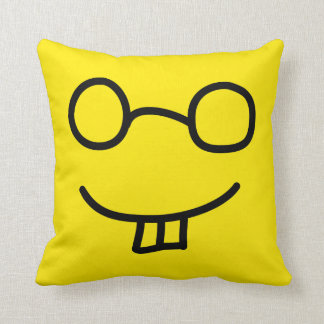 Nerd Emoticon Cushion
