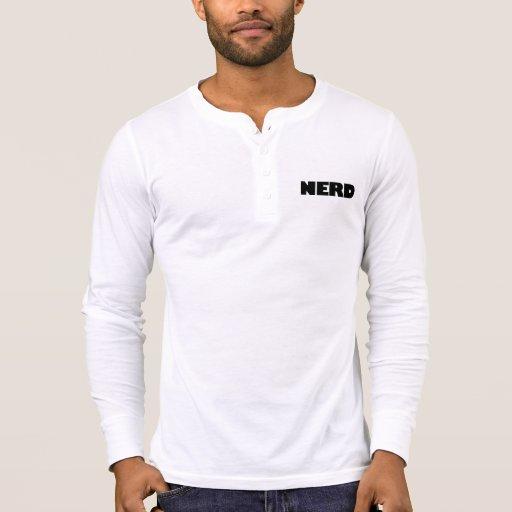 NERD HENLEY TEE SHIRT