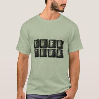Nerd Life Keys Computer Keyboard Funny Nerdy T-Shirt