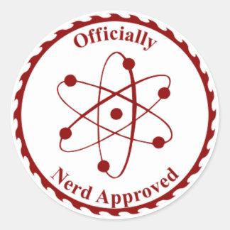Nerd Seal of Approval Sticker