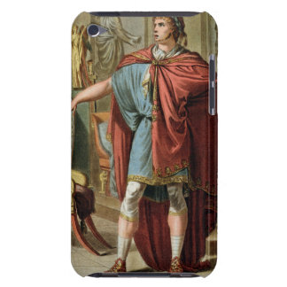 Nero, costume for 'Britannicus' by Jean Racine, fr iPod Touch Case-Mate Case