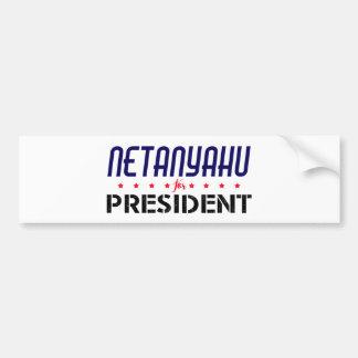 Netanyahu for President Bumper Sticker
