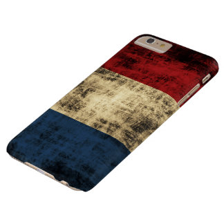 Netherlands Flag Vintage Grunge Barely There iPhone 6 Plus Case