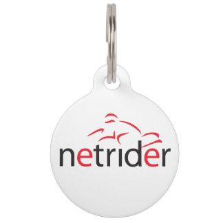 Netrider Keyring Pet ID Tag