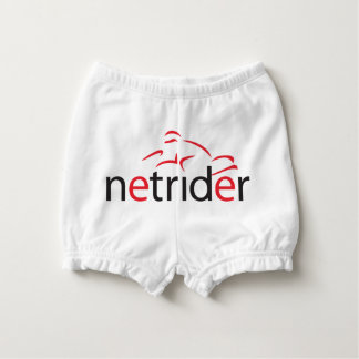 Netrider Logo Nappy Cover