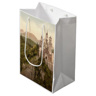 Neuschwanstein Castle, Bavaria, Germany Medium Gift Bag