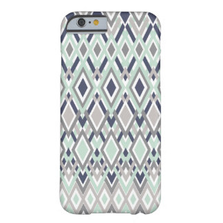 Neutral Boho | Blue and Gray Barely There iPhone 6 Case