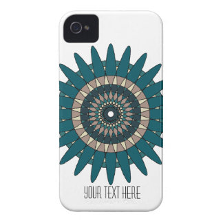 Neutral Tone Abstract Spiral iPhone Case