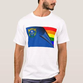 Nevada Rainbow Flag T-Shirt