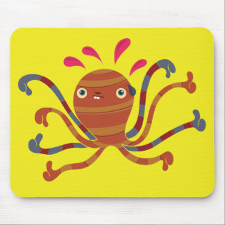 Never ask an octopus for an opinion mouse pad