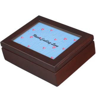 Never Ending Love Floating Heart Keepsake Box