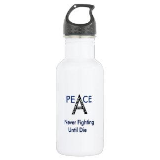 Never Fighting Until Die 532 Ml Water Bottle