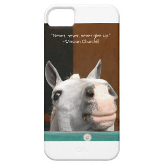 Never Give Up Case For The iPhone 5