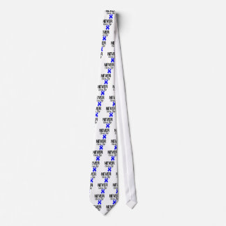 Never Give Up (Colon Cancer) Tie