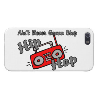 Never Gonna Stop Hip Hop Case For The iPhone 5