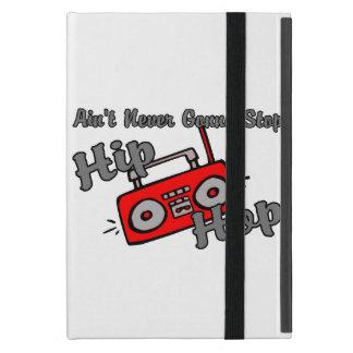 Never Gonna Stop Hip Hop iPad Mini Cover