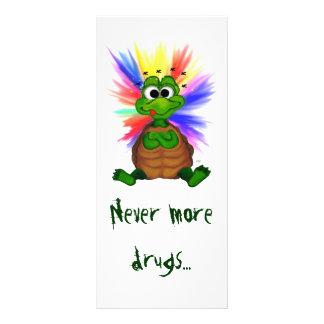 Never more drugs kartendruck