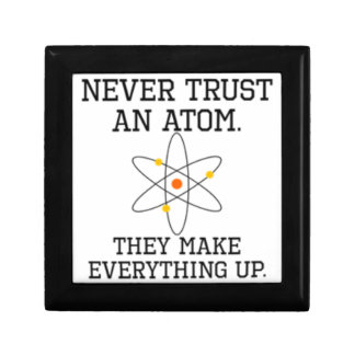 Never Trust An Atom - Funny Science Gift Box