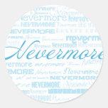 Nevermore Etiqueta