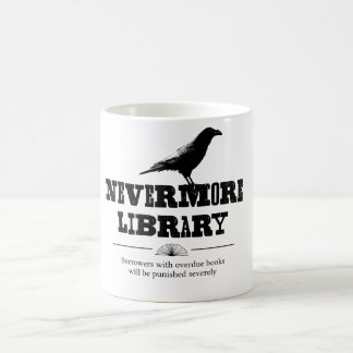 Nevermore Library Coffee Mug