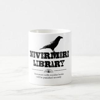 Nevermore Library Coffee Mug