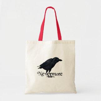 Nevermore - The Raven - E.A. Poe Canvas Bag