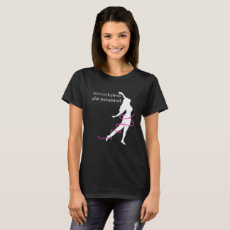 Nevertheless Women Pink Ribbon Shirt