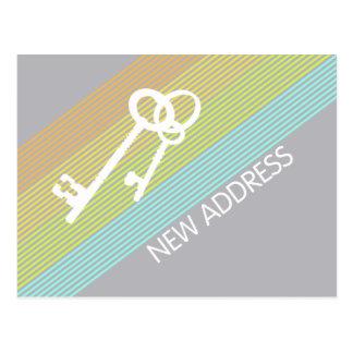 New Address Announcement Post Card