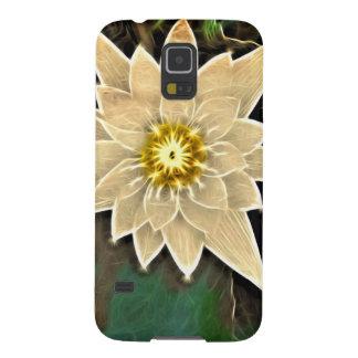 New Age Zen Buddhism Yoga Namaste White Lotus Galaxy S5 Covers