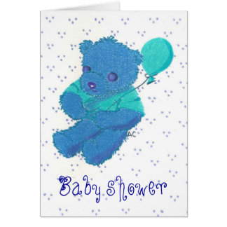 New Baby Boy , Baby shower Card