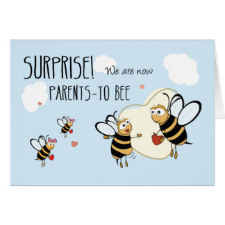 New Baby Pregnancy Expecting Announcement, 3rd Bab Card