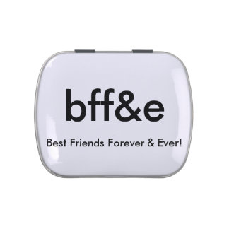 New BEST FRIENDS FOREVER & EVER - JELLY BELLY TIN