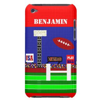 New Boys Football Sports Custom iPod Touch Case