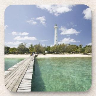 New Caledonia, Amedee Islet. Amedee Islet Pier. Coaster