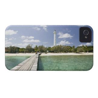 New Caledonia, Amedee Islet. Amedee Islet Pier. iPhone 4 Case-Mate Cases