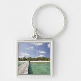 New Caledonia, Amedee Islet. Amedee Islet Pier. Key Ring