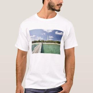 New Caledonia, Amedee Islet. Amedee Islet Pier. T-Shirt