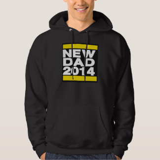 New Dad 2014 Yellow Hoodie