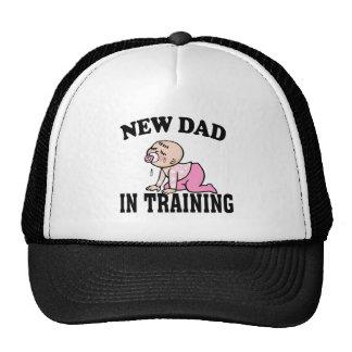 New Dad Girl Trucker Hats