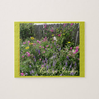 New Day Gardens Puzzle- Cottage Garden Jigsaw Puzzles