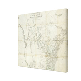 New Discoveries in North America Canvas Print