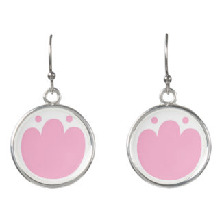New earrings in shop : With pink Tulips