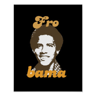 New Frobama brown Poster