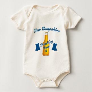 New Hampshire Drinking team Baby Bodysuit