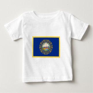 New Hampshire Flag Baby T-Shirt