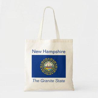 New Hampshire Flag Bag