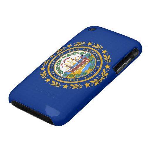 New Hampshire Flag iPhone 3 Case-Mate Case