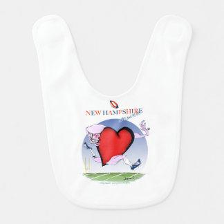 new hampshire head heart, tony fernandes bib