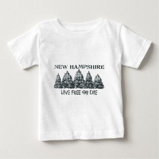 New Hampshire Live Free Baby T-Shirt