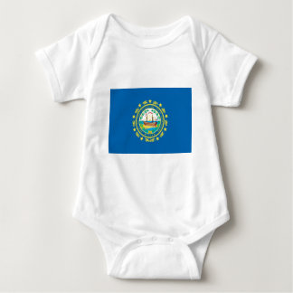 New Hampshire  Official State Flag Baby Bodysuit
